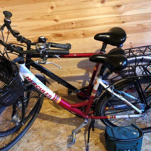 Fahrräder im Ferienhaus Aurich