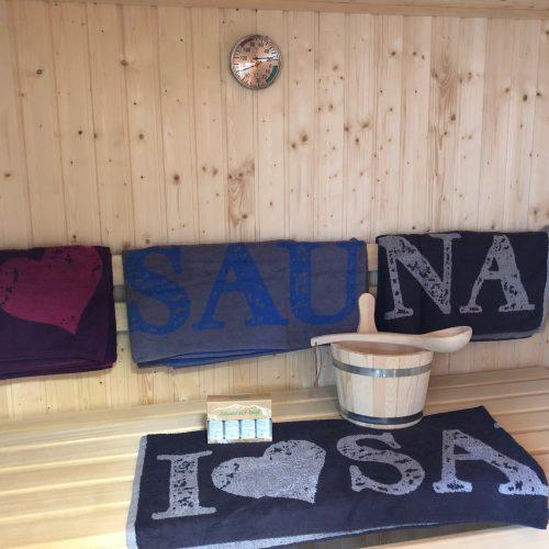 Sauna (EG) im Ferienhaus Aurich